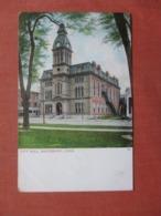 City Hall   Waterbury  Connecticut >  Ref 4024 - Waterbury