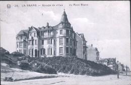 DE PANNE : Groupe De Villas Du Mont Blanc - De Panne