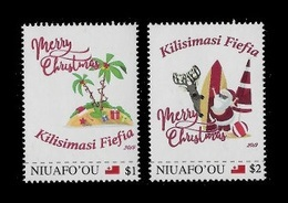 Tonga (Niuafo'ou) 2019 Mih. 755/56 Christmas MNH ** - Tonga (1970-...)