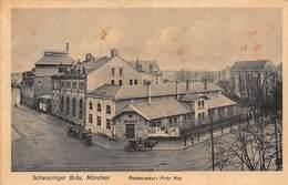 MUNCHEN GERMANRY~SCHWABINGER BRAU-RESTAURATEUR: FRITZ MAY~1910 PHOTO POSTCARD 45799 - München