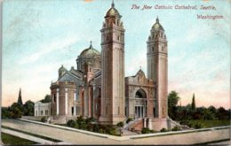 Washington Seattle The New Catholic Cathedral 1908 - Seattle