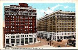 Washington Seattle Fourth Avenue And University StreetCurteich - Seattle