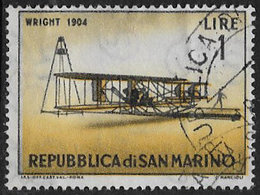 San Marino SG659 1962 Vintage Aircraft 1l Good/fine Used [40/33159/7D] - San Marino