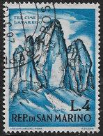 San Marino SG672 1962 Mountaineering 4l Good/fine Used [24/21671/7D] - San Marino