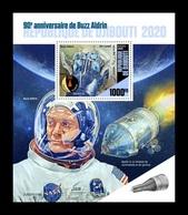 Djibouti 2020 Mih. 3233 (Bl.1225) Space. Astronaut Buzz Aldrin MNH ** - Djibouti (1977-...)