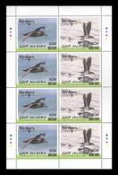 Cook Islands 2019 Mih. 2220/21 Fauna. Birds. Philatelic Exhibition Birdpex In Luxembourg (overprint) (M/S) MNH ** - Cookinseln