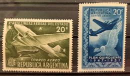ARGENTINA  - MH*    - 1951 - # C59/60 - Argentina