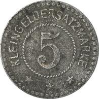 Monnaie, Allemagne, Kleingeldersatzmarke, Landau, 5 Pfennig, 1919, TTB, Zinc - Monetary/Of Necessity