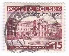 Port Gdansk 1937 Fi 30 Used In Boryslaw - Occupations