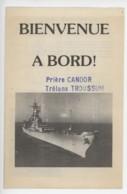 ° Cuirassé Américain USS IOWA ° Escale Au Port Du Havre En Septembre 1985 ° 2 Documents ° - Historische Dokumente