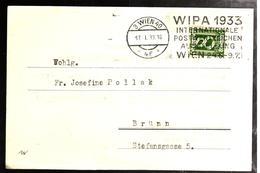 31441 -  WIPA 1933 - Brieven En Documenten