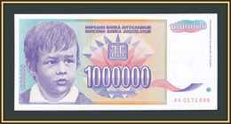 Yugoslavia 1000000 Dinars 1993 P-120 (120a) UNC - Jugoslavia