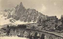 CHAMONIX  Chemin De Fer De  Montevers Viaduc Train  RV - Chamonix-Mont-Blanc