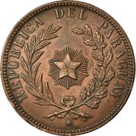 Monnaie, Paraguay, 4 Centesimos, 1870, SUP, Cuivre, KM:4.2 - Paraguay