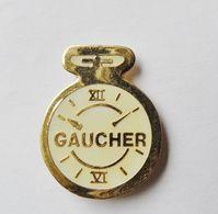 Pin's Chronomètre Gaucher  - Rst20 - Badges