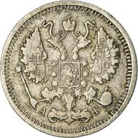 Monnaie, Russie, Nicholas II, 10 Kopeks, 1899, Saint-Petersburg, TB+, Argent - Russia