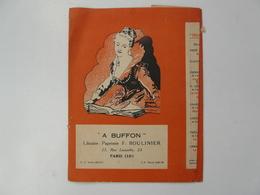 VIEUX PAPIERS - PROTEGE CAHIER : A BUFFON  - Paris - Albums Du Père CASTOR - Protège-cahiers