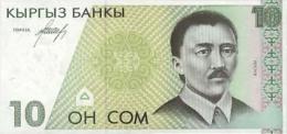 Kyrgyzstan 10 Som  1994  Pick 9 UNC - Kyrgyzstan