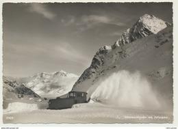 AK  Schneeschleuder Am Julierpass - GR Grisons
