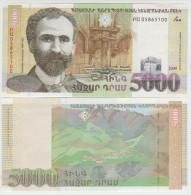 Armenia 5000 Dram 2009  Pick 51 UNC - Armenia