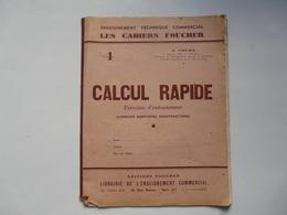 LES CAHIERS FOUCHER : Calcul Rapide - Management