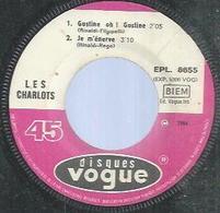 """45 Tours EP - LES CHARLOTS  -  VOGUE 8655  -   """" HAÏLILOLILOLAÏ """" + 3   ( Sans Pochette ) - Other - French Music"""