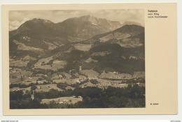 AK  Tiefenblick Vom Weg Nach Hochlenzer Bei Berchtesgaden - Berchtesgaden