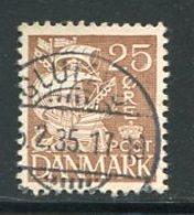 DANEMARK- Y&T N°217 II- Oblitéré - Usado