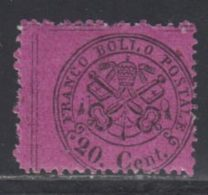 Etats Pontificaux 1868 Yvert 23 ** TB - Etats Pontificaux