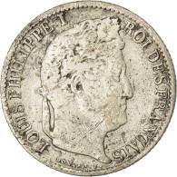Monnaie, France, Louis-Philippe, 1/4 Franc, 1832, Strasbourg, B+, Argent - France