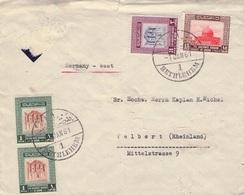 JORDAN - AIR MAIL 1961 BETHLEHEM Nach DEUTSCHLAND /ak565 - Jordanien