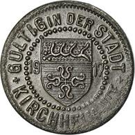 Monnaie, Allemagne, Kriegsgeld, Kirchheim, 5 Pfennig, 1917, TTB+, Iron - Monetary/Of Necessity