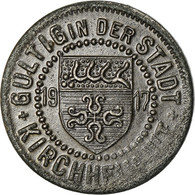 Monnaie, Allemagne, Kriegsgeld, Kirchheim, 5 Pfennig, 1917, TTB+, Iron - Monétaires/De Nécessité