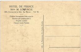 HOTEL DE FRANCE -  LA PANNE (Adinkerke - Belgique) - Other
