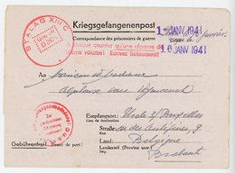CLFM CAMP PRISONNIERS STALAG XIIIC =HAMMELBURG NUREMBERG 1941 SUR CLFM SPECIFIQUE XIIIC - Postmark Collection (Covers)
