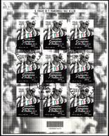 Italia 2014 Juventus Campione Minifoglio Annullo 1°giorno - 6. 1946-.. Repubblica