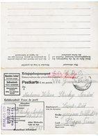 FIN DE GUERRE VOIE ANGLAISE COP GO VIA GRANDE BRETAGNE 1944 CPFM PRISONNIERS CAMP STALAG IID = STARGARD STETTIN - 1921-1960: Periodo Moderno