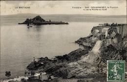 Cp Douarnenez Finistère, Le Flumion Vu De La Pointe Du Guet - Altri Comuni