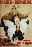 SPECTACLE FOLIES BERGÈRES D 16 DANSE ET MAGIE DANSEUSE SEXY CYGNES EDIT. NUGERON - Cabarets