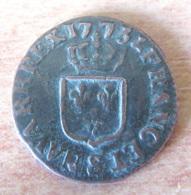 France - Monnaie Louis XV - Demi-Sol à L'Ecu 1770 AA (Metz) - Achat Immédiat - 987-1789 Monnaies Royales