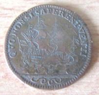 France - Jeton Louis XIV En Bronze - QUO NON SI SAPERENT VENTI - TB+ - Royaux / De Noblesse