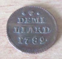 Luxembourg - Monnaie Demi-Liard 1789 TB+ / TTB - Luxembourg