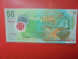 MALDIVES 50 RUFIYAA 2015 PEU CIRCULER/NEUF (B.12) - Maldives