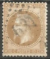 France - Napoleon III Et/ou Cérès - Oblitération Sur N° 28A - GC 631 BRIEY (Meurthe & Moselle) - 1849-1876: Periodo Classico