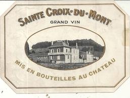 CHATEAU DOISY VEDRINES . HAUT BARSAC SAUTERNES - Bordeaux