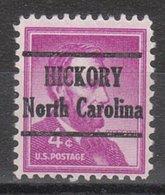 USA Precancel Vorausentwertung Preo, Locals North Carolina, Hickory 227 - United States