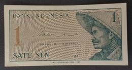 RS - Indonesia 1 Sen Banknote 1964 A-UNC - Indonesien