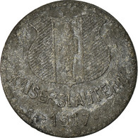 Monnaie, Allemagne, Kriegsgeld, Kaiserlautern, 10 Pfennig, 1917, TTB, Zinc - Monétaires/De Nécessité