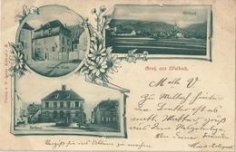 CPA Gruss Aus Walbach Alsace Allemande - France