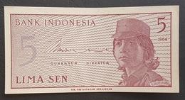RS - Indonesia 5 Sen Banknote 1964 A-UNC - Indonesien